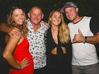 THRIVING ORGANISATION: Peter Harvey received well wishes from his proud family when he was awarded 2016 Surf Life Saver of the Year on Friday night in a ceremony at Mooloolaba Yacht Club. He is pictured here with with his children Leah, Molly and Sean.