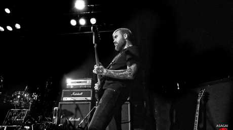 Drowning Pool played Brisbane with A Breach of Silence and She Cries Wolf at the Max Watt's House of Music.
