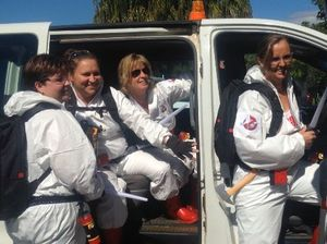 WATCH: Ghostbusters embark on Gladstone mission today