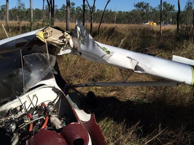 Plane crash at Raglan
