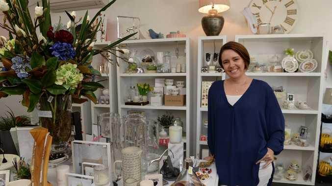 Owner of Momi Homewares and Gifts at Bucasia, Barb Attard.