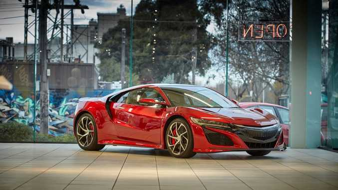 MORE THAN A LAMBORGHINI: 2017 arrival for new 427kW hybrid Honda NSX supercar; order books are open but you'll need deep pockets. Prices start at $420,000 before on-roads.