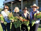 Receiving bouquets of thanks were Jude McBean, Michelle Page, Goldie Watters and Lorraine Sinnamon.