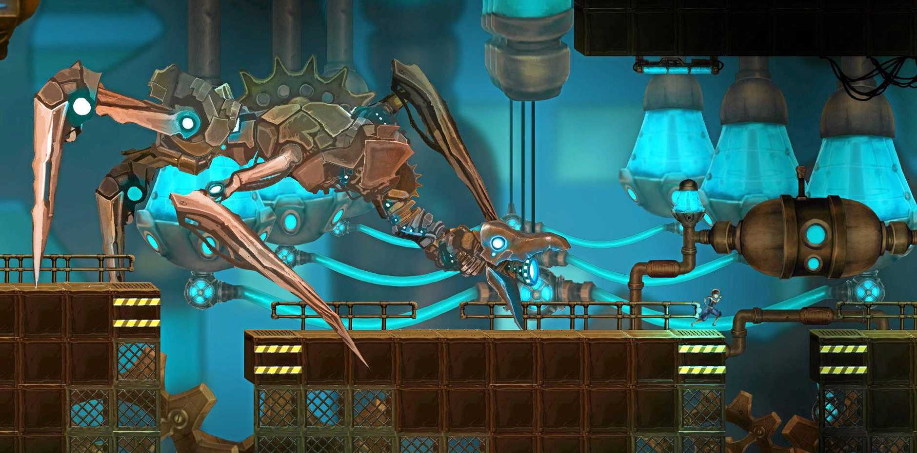 STEAMPUNK FAIRYTALE:   Gamesoft's debut title combines beauty and brains.