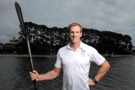 Sprint canoeist Ken Wallace.