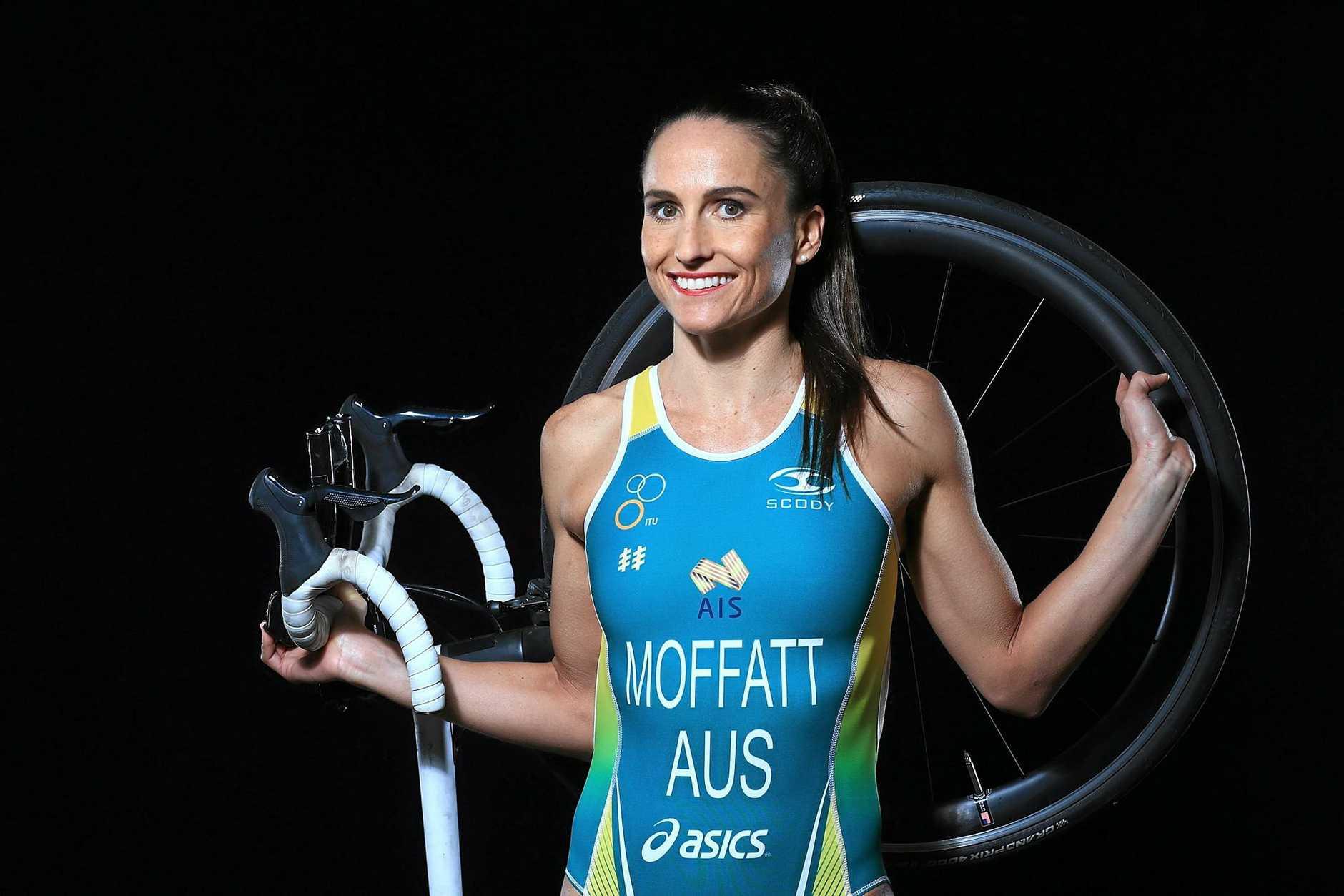 Australian triathlete Emma Moffatt.