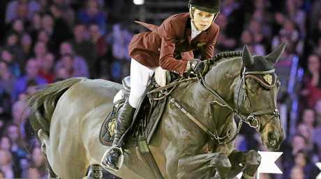Showjumping competitor Edwina Tops-Alexander, of Australia.