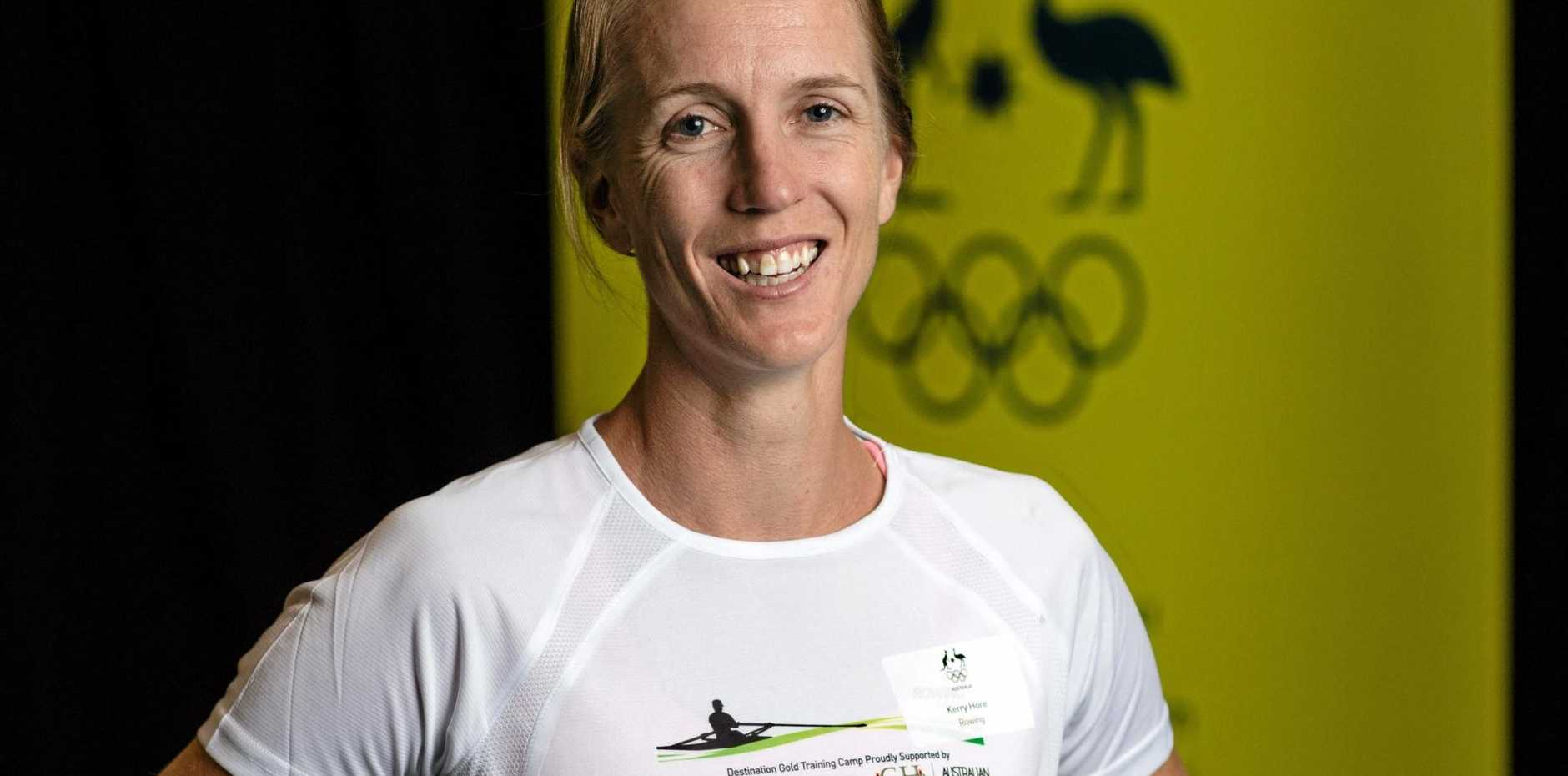 GOING STRONG: Rower Kerry Hore will compete at her fourth Games.
