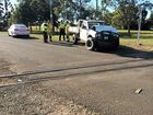 Car collides with cane train
