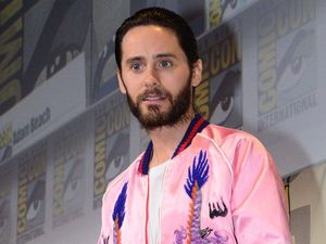 Jared Leto's experimental laugh