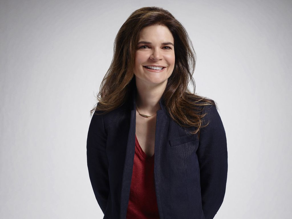 Betsy Brandt stars in the TV series Life In Pieces.