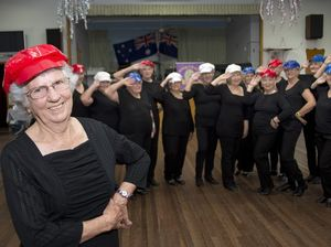 Jazzy Tappers at Seniors Citizens Club