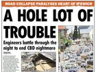 Ipswich: A history of sink holes