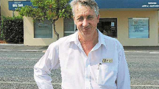 TRAGEDIES: Owner of Whitsunday Funerals and Crematorium, Jeff Boyle.