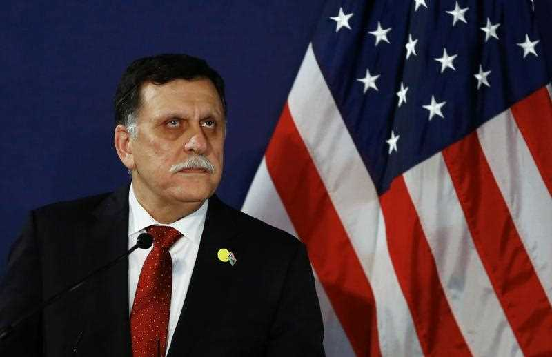 Serraj said in a televised statement that American warplanes attacked the IS bastion of Sirte. No U.S. ground forces will be deployed, he said.