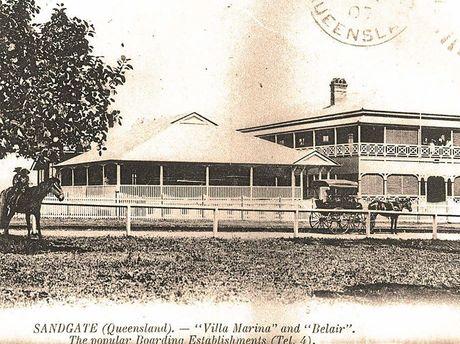 Villa Marina, pictured circa 1900, was built in 1881.