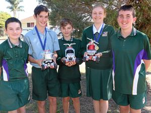 Students claim RoboCup win
