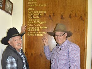 Warwick connection to Rodeo Hall of Fame inductions