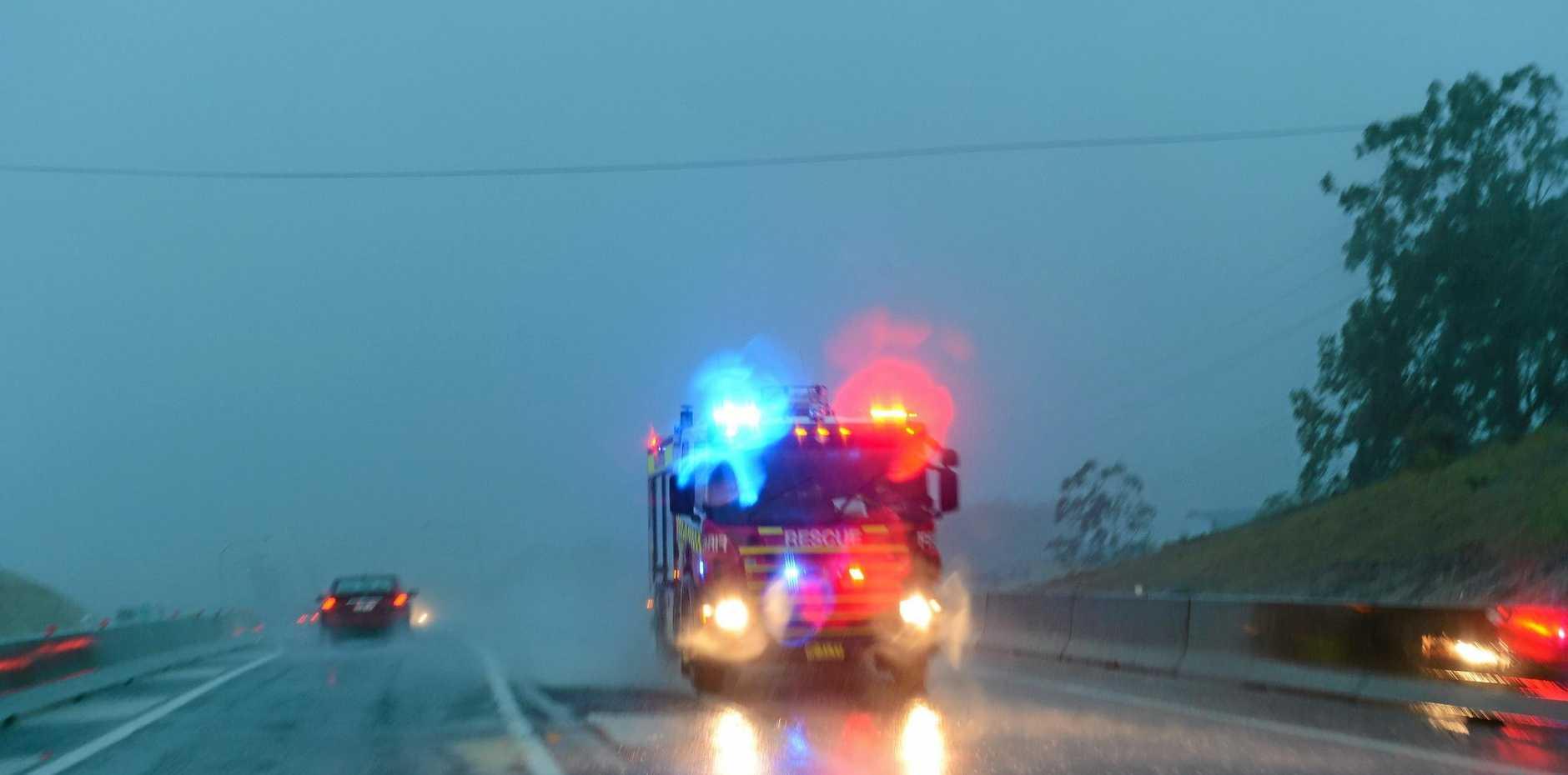 East coast low causes havoc in Coffs Harbour.  Photo: Trevor Veale / The Coffs Coast Advocate