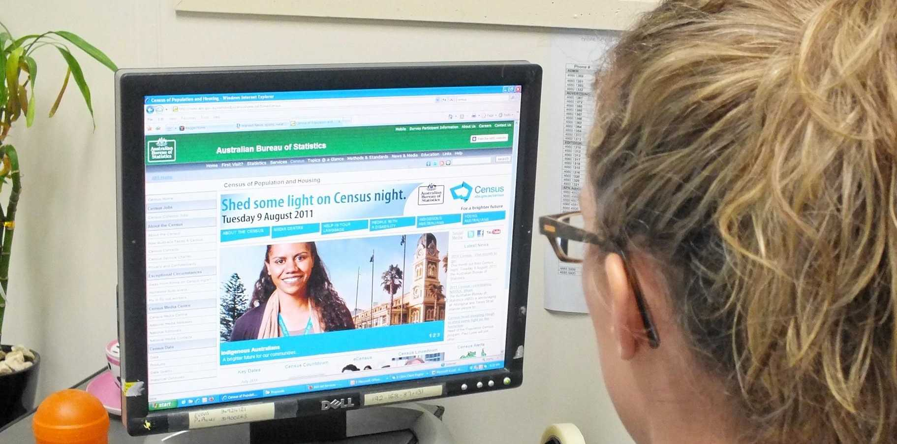 CENSUS COMING: Warwick residents will fill in the national census August 9. Photo Shannon Newley/Warwick Daily News