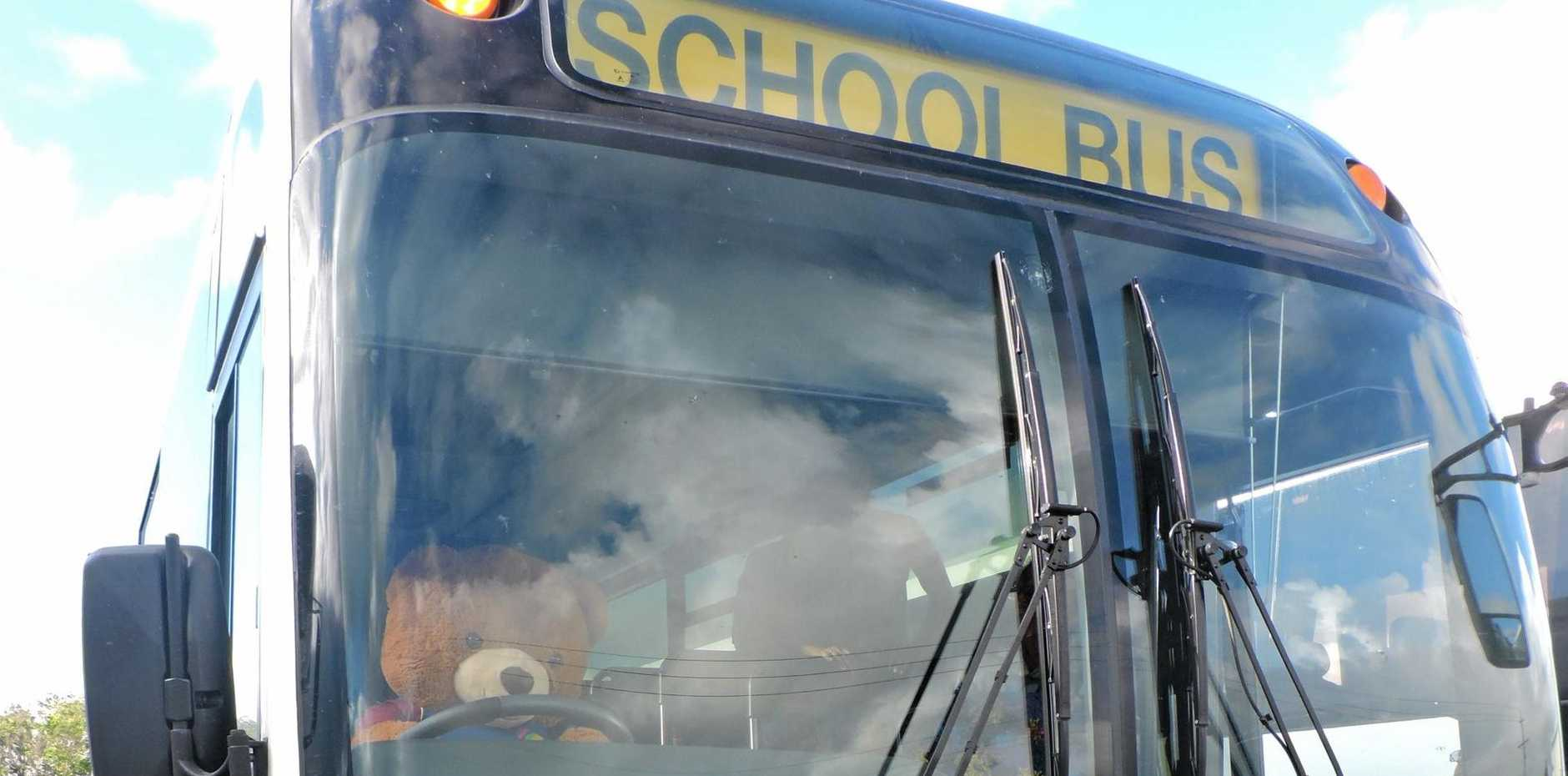 Adults can take the school bus too.