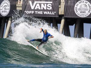 Australia's next surfing star on the rise