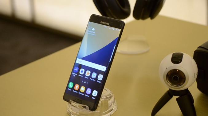Latest phone introduces iris scanning.