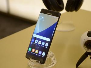 Samsung's latest phone has iris scanner