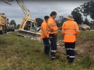 Bruce Hwy crash recovery