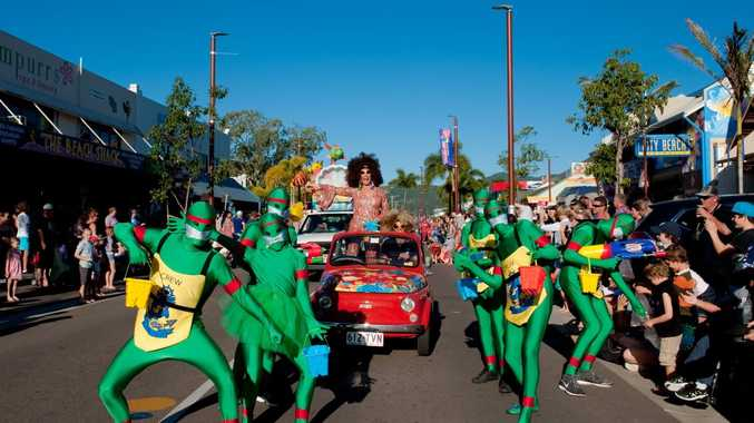 The Whitsunday Reef Festival's Rotary Street Parade. Photo Debbie Savy / Tropix Photo Contributed