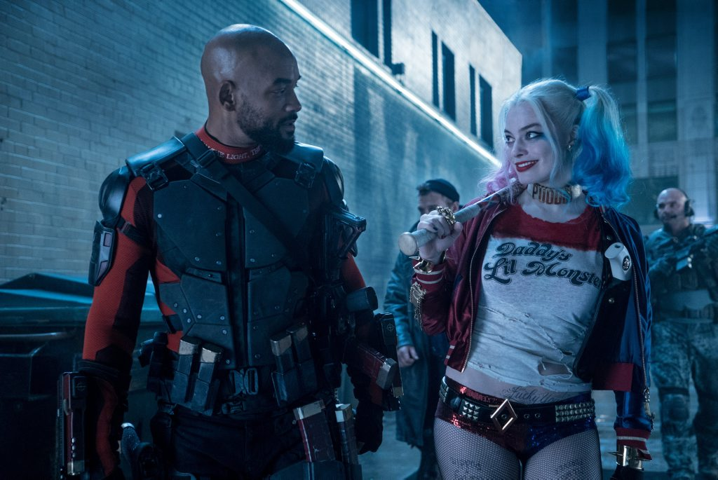Will Smith and Margot Robbie in a scene from the movie Suicide Squad.