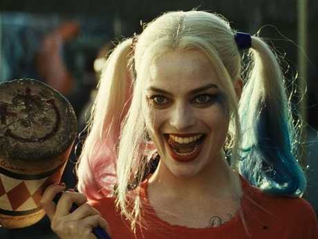 Margot Robbie in a scene from the movie Suicide Squad.