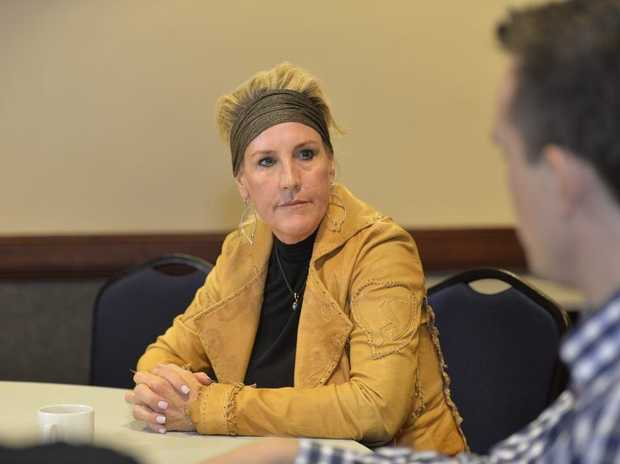 Shine Lawyers ambassador Erin Brockovich will be in Oakey again today.