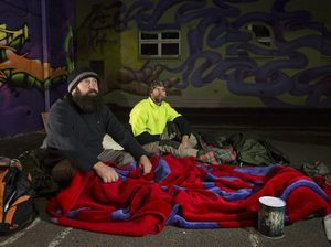 Sleeping rough to raise awareness