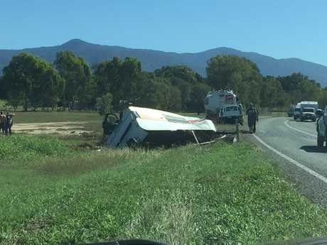 Crash on the Bruce Hwy, south of Townsville.
