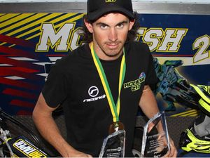 Moto champ cleans up