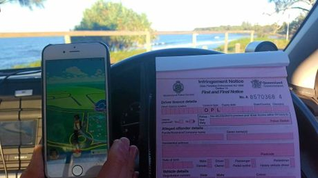 Police are warning Pokemon Go players to do the right thing.