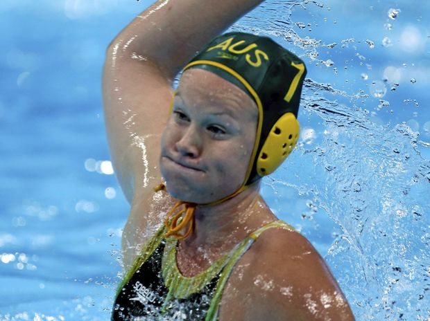 MOVING IN: Australian water polo player Rowie Webster.