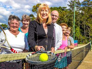 Elliot serves up funding for Pottsville Beach Tennis Club