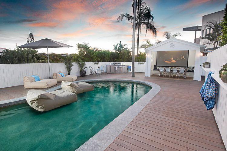 Pool perfection.