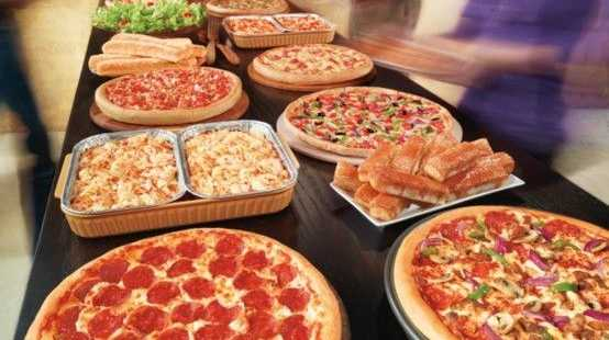 If you've ever enjoyed Pizza Hut's all you can eat dine in experience, you're probably feeling hungry right about now.