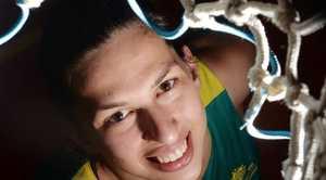 Basketballer Marianna Tolo Photo Tony Martin / Daily Mercury