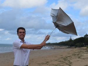 Wind warning off Fraser Island coast and what's to come