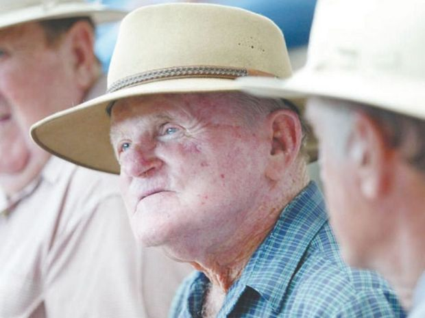 Neville Hewitt has not lost his passion for the cattle industry. Photo Rhodes Watson / Morning Bulletin
