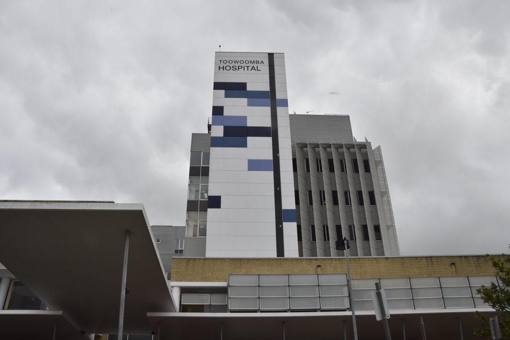 Toowoomba Hospital is fast nearing capacity.