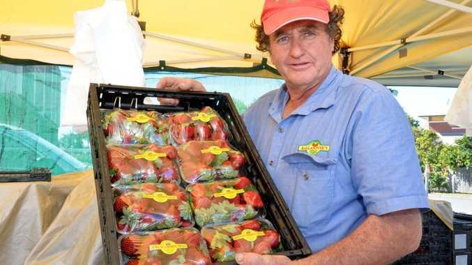 Alan Ballantyne from Ballantyne's Strawberry farm.