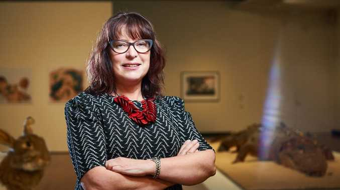 Artspace Mackay's new gallery director, Julie Skate. Photo Contributed