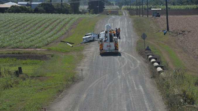 Crash on Hills Rd, Te Kowai