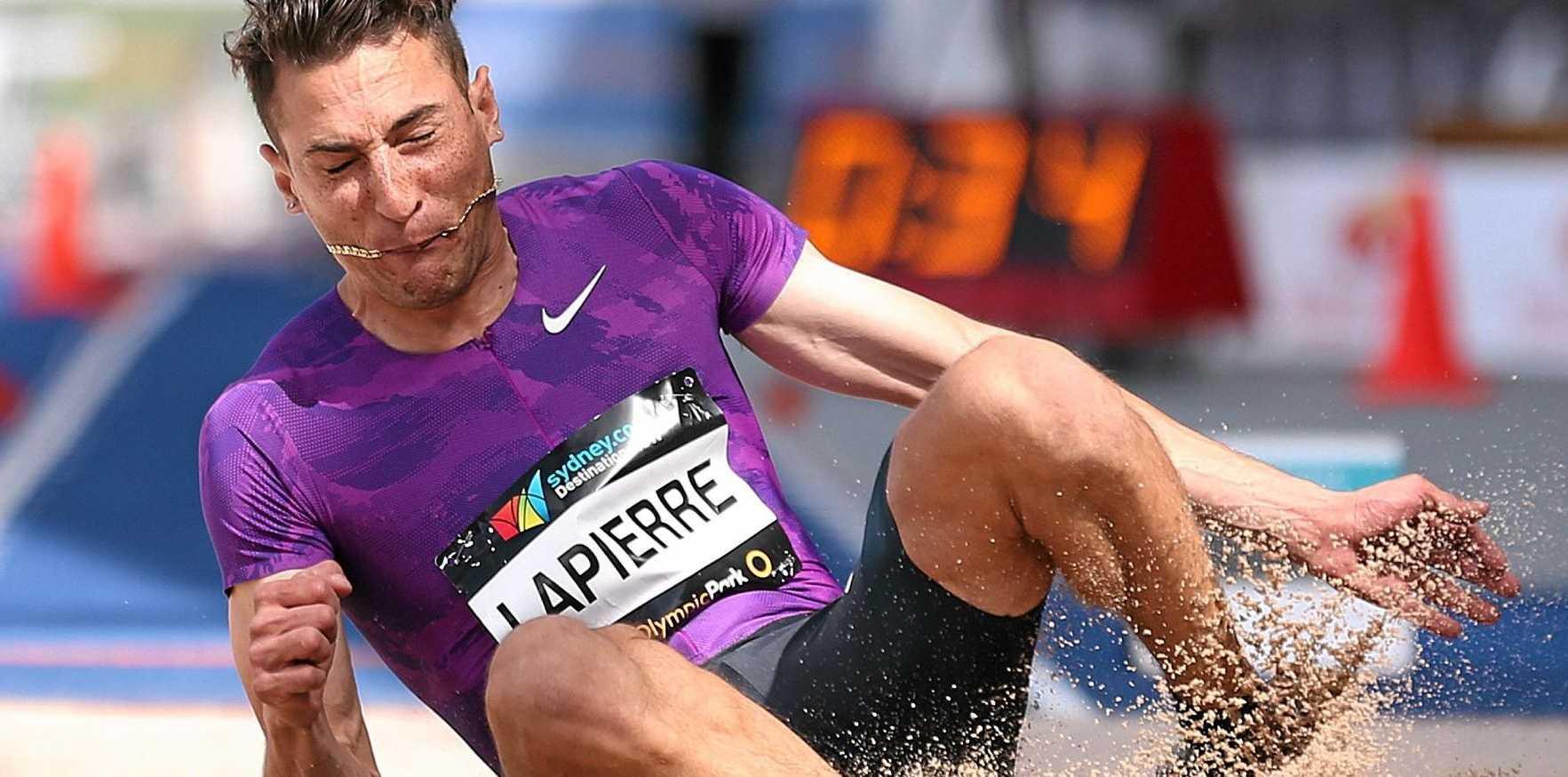 GOING LONG: Fabrice Lapierre.