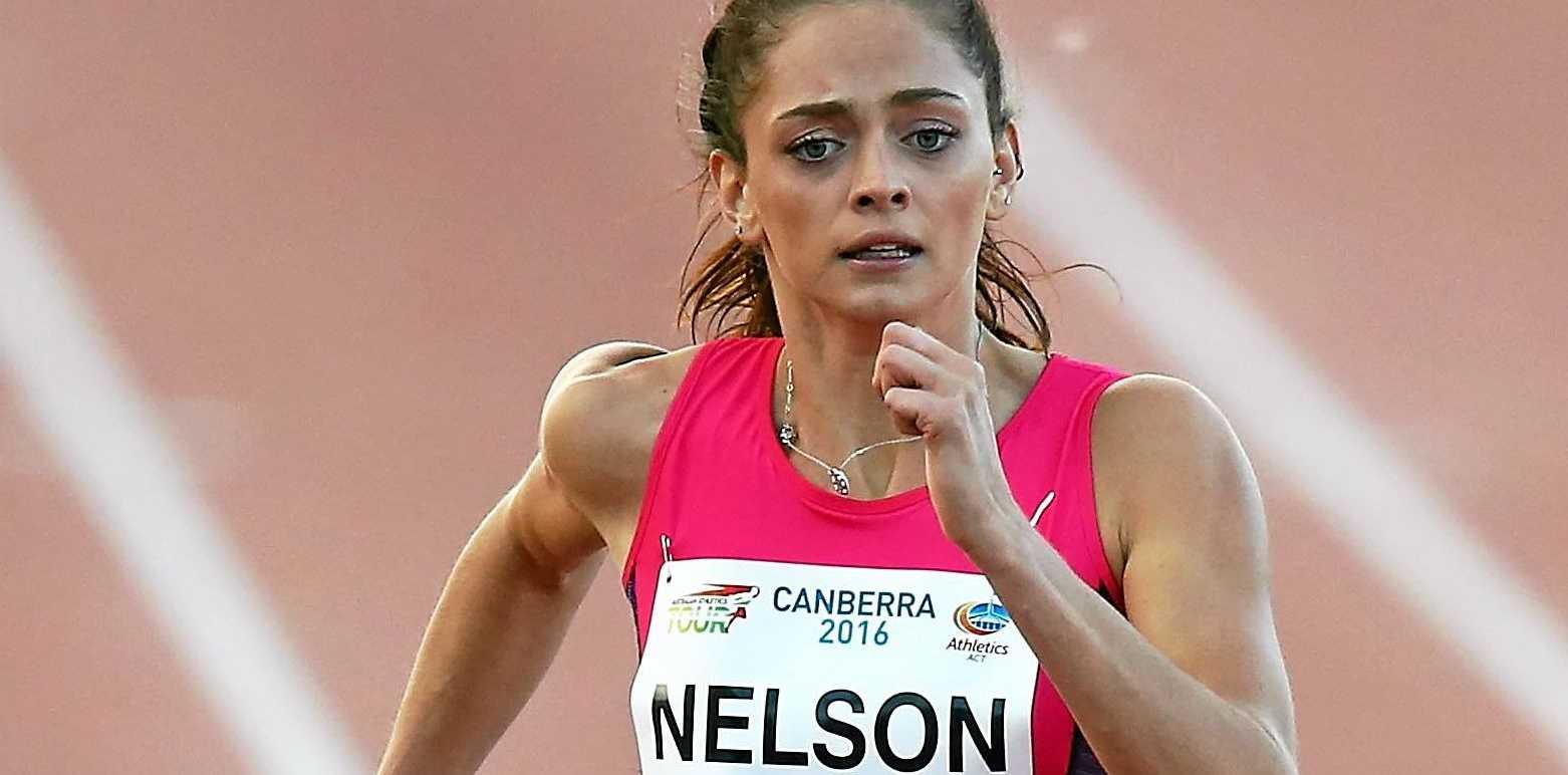 FAST FEET: Runner Ella Nelson.